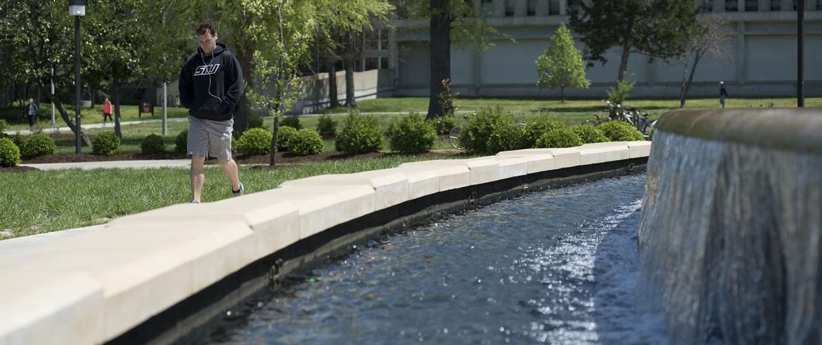 SIU Fountain