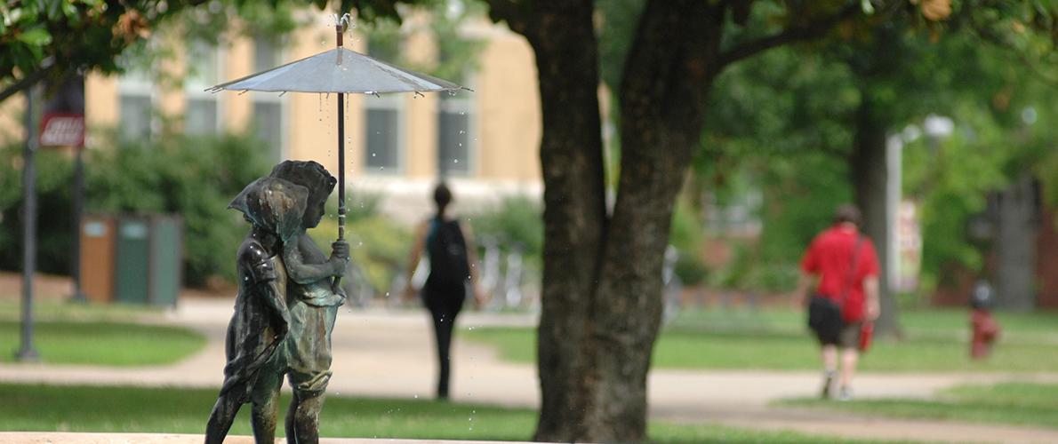 SIU Campus Fountain