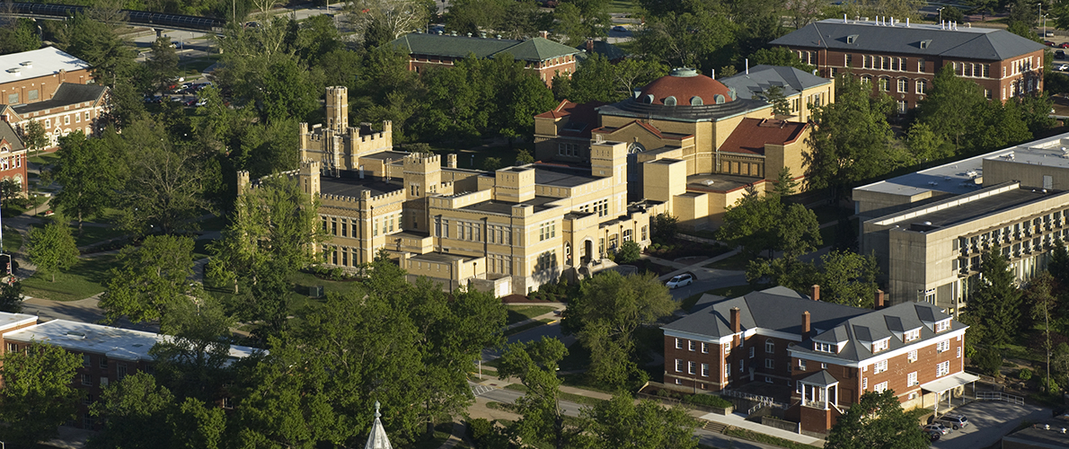 Overhead view of siu campus