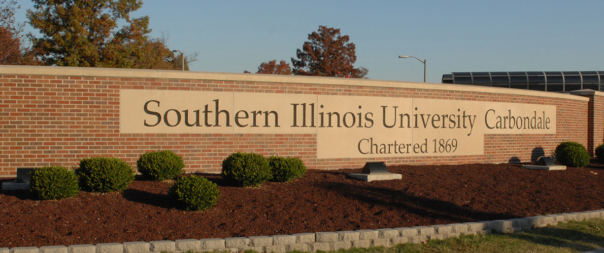 Southern Illinois University Sign