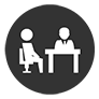 office two people icon