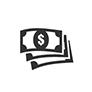 dollar bills icon
